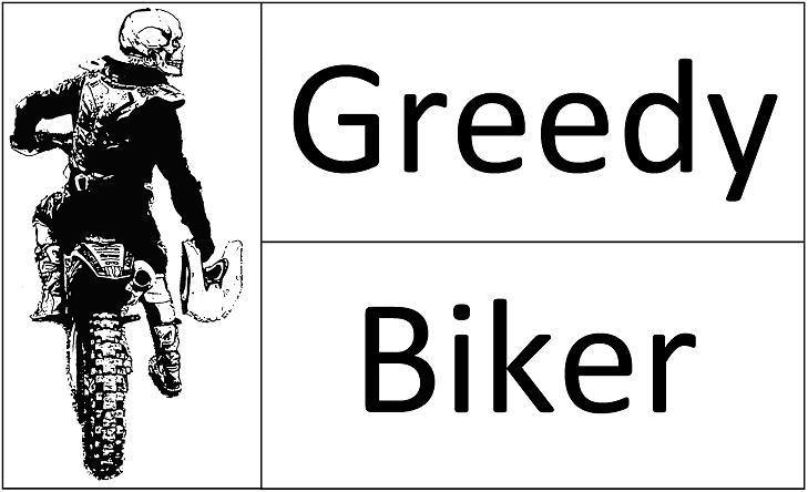 Greedy Biker Logo